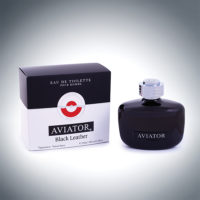 Aviator Black Leather